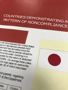 米国務省のハーグ条約に関する2018年の報告書は初めて日本を不履行国に認定した