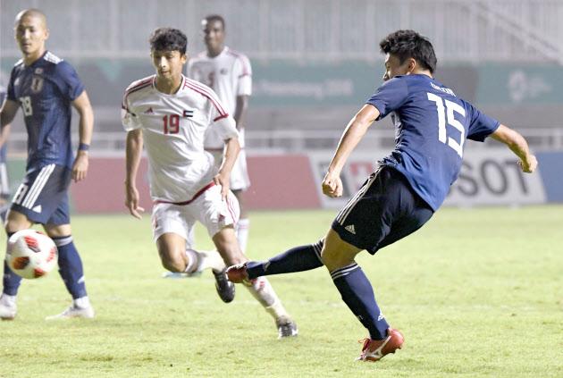 サッカー日本男子、UAE退け決勝...