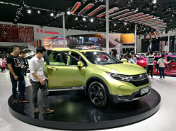 ホンダの8月中国新車販売は9.9%減。7カ月連続で前年割れし、低迷から抜け出せずにいる(広東省広州市)