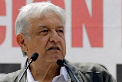 メキシコのロペスオブラドール次期大統領=ロイター