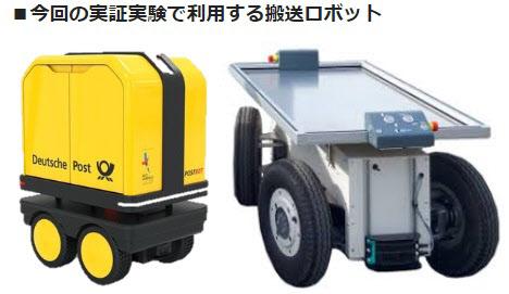 リアライズ・モバイル・コミュニケーションズとココネット 人追従・自走式搬送ロボットによる公道実証実験を札幌市内で実施 のTwitterの反応まとめ