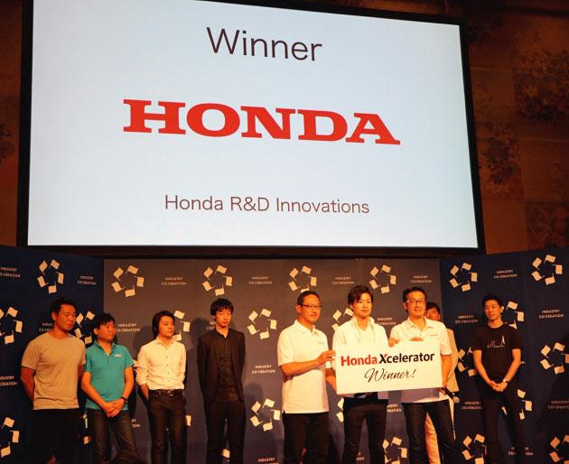 ホンダはICCでスタートアップを発掘するためのコンテストを開いた(9月、京都市)