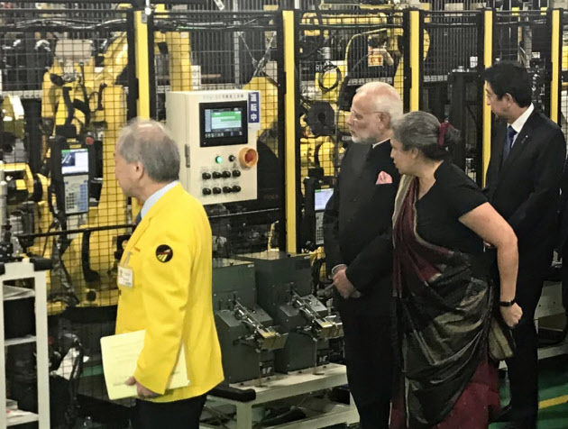 インド攻める工作機械 印モディ首相がファナック訪問 のTwitterの反応まとめ