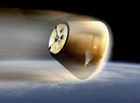 カプセルのイメージ(JAXA提供)