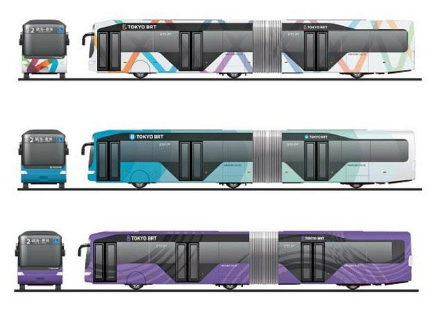 都心―臨海部のバス高速輸送、名称は「東京BRT」に :日本経済新聞