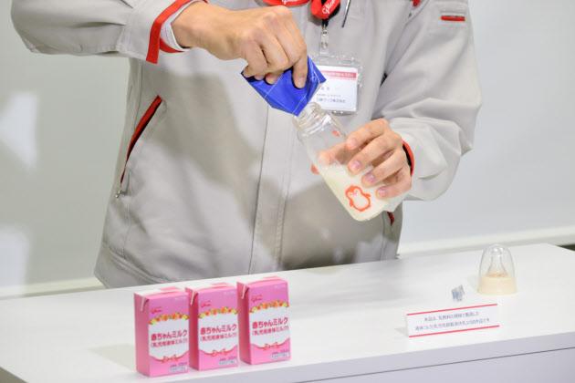 液体ミルク解禁 グリコが先陣、大手は慎重  :日本経済新聞