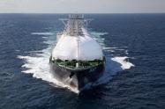 川崎重工業が建造した大型LNG運搬船