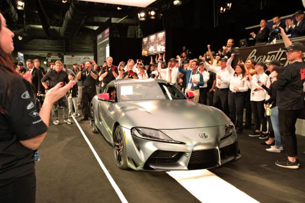 トヨタ スープラ1号車をオークションに 収益2億円寄付 のTwitterの反応まとめ