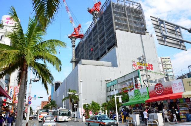 沖縄公示地価、商業地10.3%プラス 全国首位