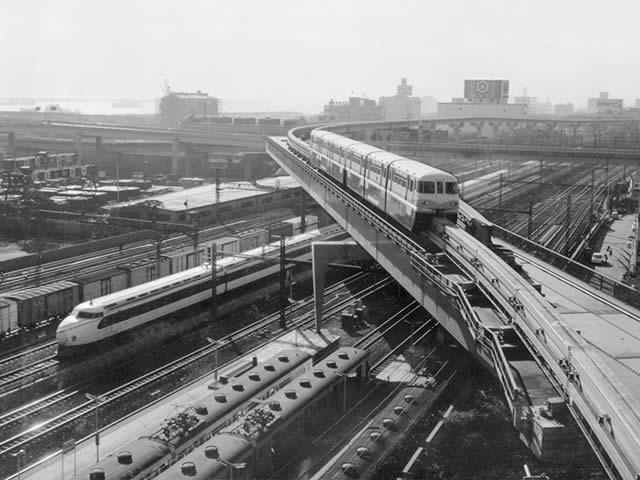 東京モノレール50年 車窓から見た湾岸開発史:日本経済新聞